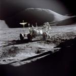 Egy nagy koponya, aki kifejlesztette a holdjáró gépet