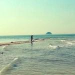 Természeti csoda Jindo szigetén